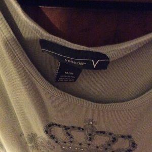 Tops - Venezia Tan Top Size 14/16
